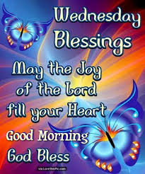 Image result for good morning blessings for wednesday