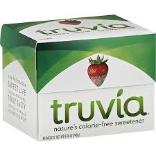 truvia calorie free sweetner from the