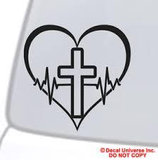 Faith Hope Love Vinyl Decal Sticker Car Window Wall Bumper Symbol Heart Cross Ebay