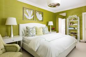 lime green grasscloth with white bamboo