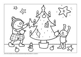 Kleurplaat Puk Viert Kerst Kerstmis Kleurplaten Kerst Peuter
