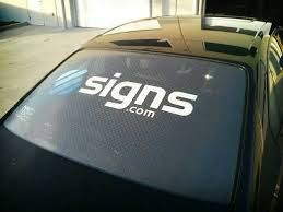 Car Rear Window Business Advertising Stickers Decals Vinyl Cut Lettering A1 Archives Statelegals Staradvertiser Com