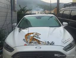 2020 Car Auto Truck Color Tiger Decal Vinyl Sticker Hood Decals Flying Emblems From Auto1986 17 09 Dhgate Com