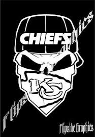 7 Punisher Skull Kansas City Chiefs Nfl Decal Graphic Sticker Car Suv Window Kc