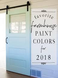 fixer upper paint colors the most
