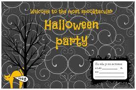 Invitaciones Fiesta De Halloween Lovely And Creatiful