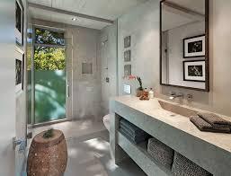 open shower ideas bathroom contemporary