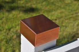 Copper Post Cap Protect Fence And Deck Sheet Metal Caps