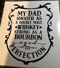 Home Furniture Diy Dad Father Whisky Christmas Vinyl Decal Sticker Gift Craft Wine Bottle Candle Cea Org