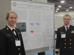 NRL Intern from Naval Academy Presents Summer Work at AGU OS12 | News