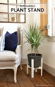 diy plant stand with free plans jaime