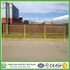 China Fansi Hot Sale Canada Temporary Construction Fence Panels China Temporary Fence Portable Fence