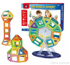 Bộ ghép hình nam châm 58 chi tiết Mini Magical Magnet ...