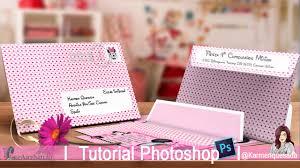 Sobre Para Tarjeta De Invitacion Cumple Tutorial Photoshop Candy Bar Karmenquesada Youtube