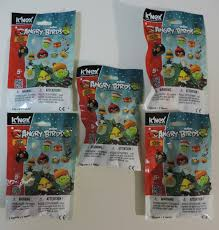 6-Pack K'NEX Knex Angry Birds Series 1 Blind Bag Characters Building Sets