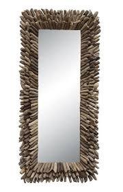 53 x 24 driftwood mirror wilford