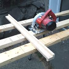 10 Minute Time Saver Project Diy Circular Saw Guide From Scrap Wood Plaster Disaster