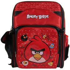 Amazon.com: Angry Birds Space Blue Backpack W Red Bird: Clothing