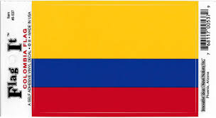 Amazon Com Colombia Flag Car Decal Sticker 3 5x5 Yellow Blue Red Everything Else