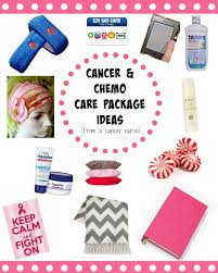 cancer and chemo care package ideas