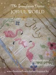 the snowflower diaries joyful world