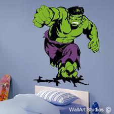 Incredible Hulk Wall Decal Avengers Wall Stickers Wall Art Studios