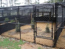 Dog Fencing Residential Kennel Installations Seegars Fence Company