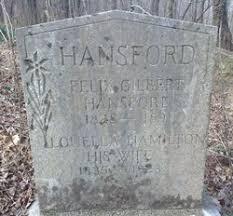 Sarah Louella Hamilton Hansford (1835-1923) - Find A Grave Memorial