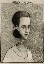 Abigail Adams Drawing by Cheryl de los Reyes Cruz | Saatchi Art