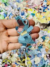 Totodile Pokemon Custom Vinyl Sticker Die Cut Decal Limited Etsy