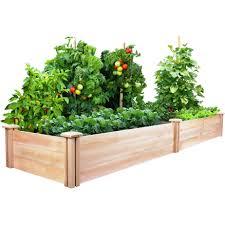 Original Cedar Raised Garden Bed 2 Ft X 8 Ft X 10 5 In Rc24966t Cedar Raised Garden Beds Raised Garden Kits Raised Garden Bed Kits