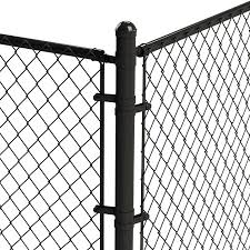Blue Hawk Black Metal Fence Tension Bar Chain Link Fence In The Fence Hardware Department At Lowes Com