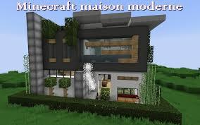 minecraft maison moderne minecraft