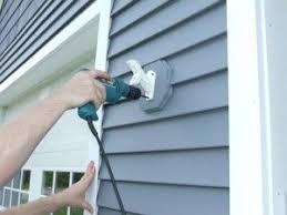 Install A Flag Pole Bracket On Vinyl Siding Home Construction Improvement Flag Pole Bracket Vinyl Siding Vinyl House