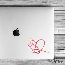 Bts Love Yourself Answer Heart Kpop Vinyl Decal Etsy