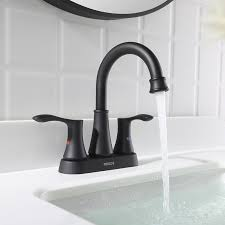 bathroom sink faucet with pop up drain