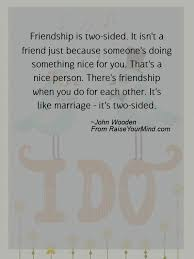 wedding wishes quotes verses friendship is two sided it isn