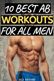 10 best ab workouts from home for men