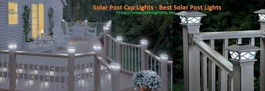 Best Solar Post Cap Lights In 2020 Solar Lights Hq