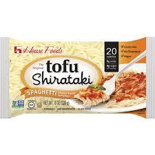 tofu shirataki spaghetti house foods