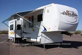 2007 heartland cyclone toyhauler 4012