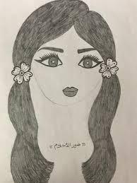 رسومات بنات حلوه رسومات من نار بالرصاص صور جميلة