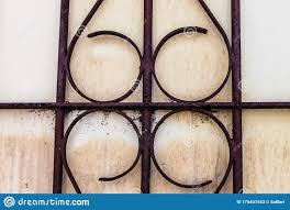 Iron Vintage Window Detail Decorative Isolated Fence Stock Illustration Illustration Of Welded Closeup 175401543