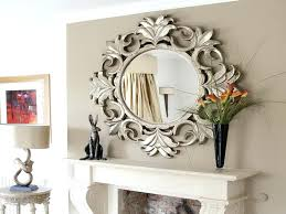 oval decorative mirror ideas 2 bathroom
