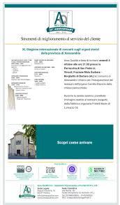 XL Stagione internazionale di concerti sugli organi storici 4 ottobre 2019  - Comune di Borghetto Di Borbera