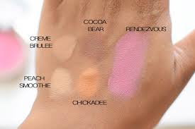 makeup geek peach smoothie saubhaya