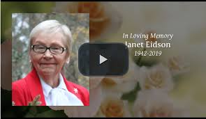 Obituary and funeral services for Janet 'Jan' Evelyn Smith Eidson, 76, of  Social Circle – Your Local News