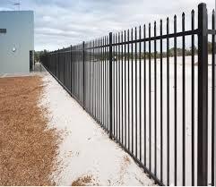 China 5ft 8ft Powder Coated Steel Fence Wrought Iron Fence Garden Fence Fence Panel Picket Fence China Fence Panel Wrought Iron Fence