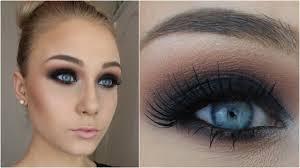 black smokey eye in 12 simple steps