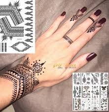 Top 10 Henna Hand Stickers List And Get Free Shipping Jdnhnm08